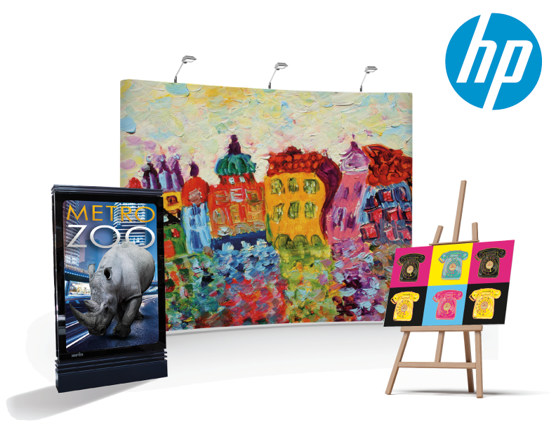 Hp Large Format Media New Canvas And Backlit Products